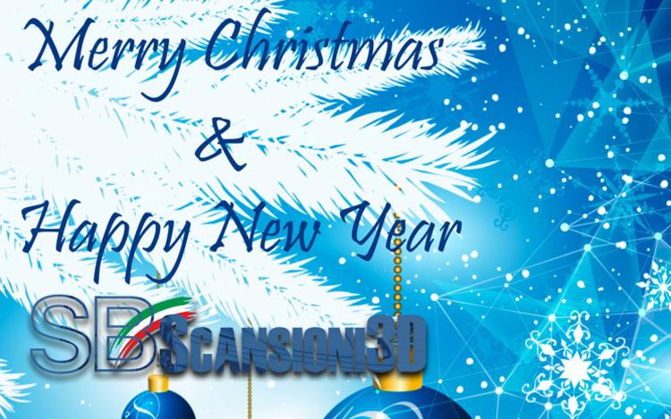 Buon Natale 3d.Auguri Di Buon Natale E Felice Anno Nuovo Corsa 3d